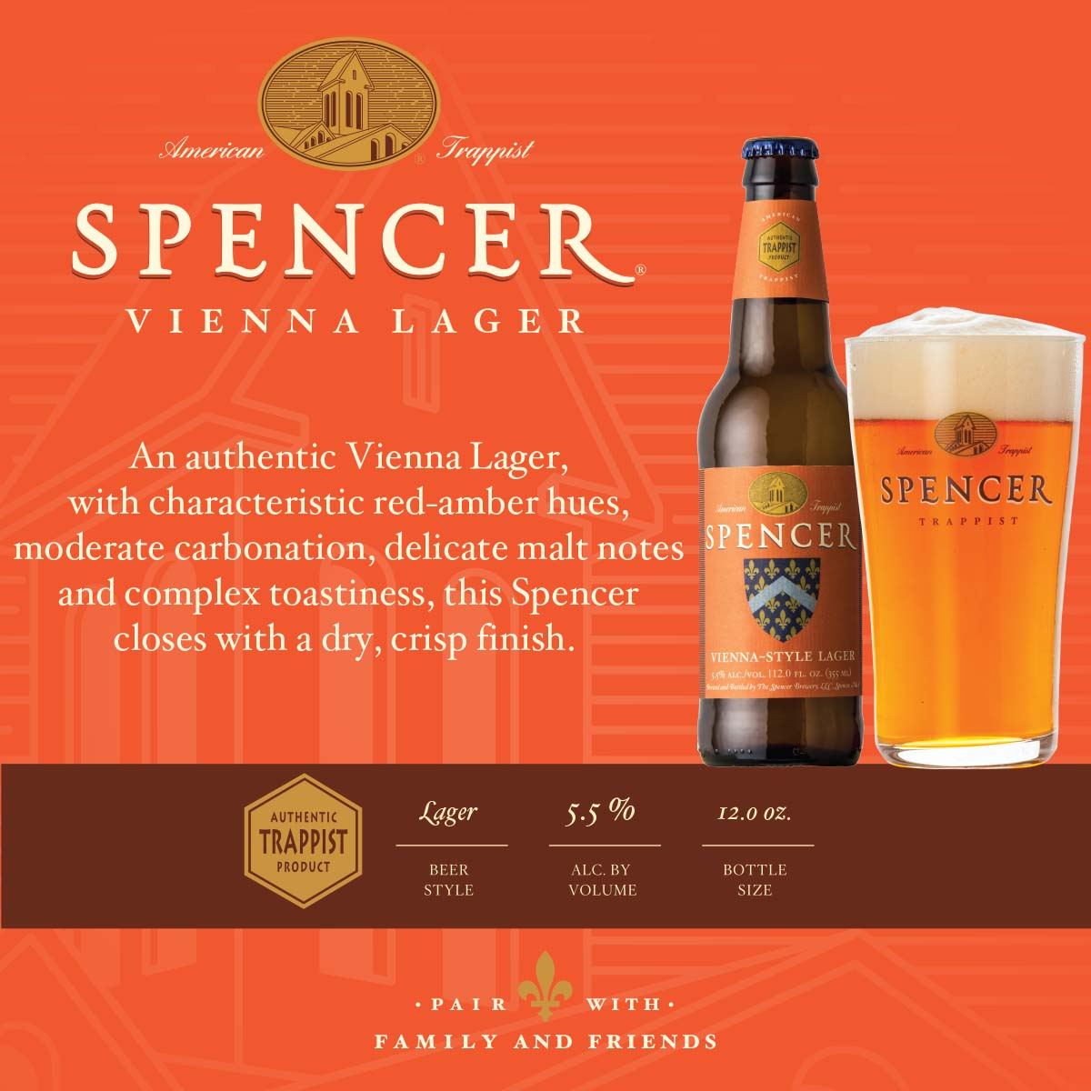 Vienna Lager Shelf Talker 4x4